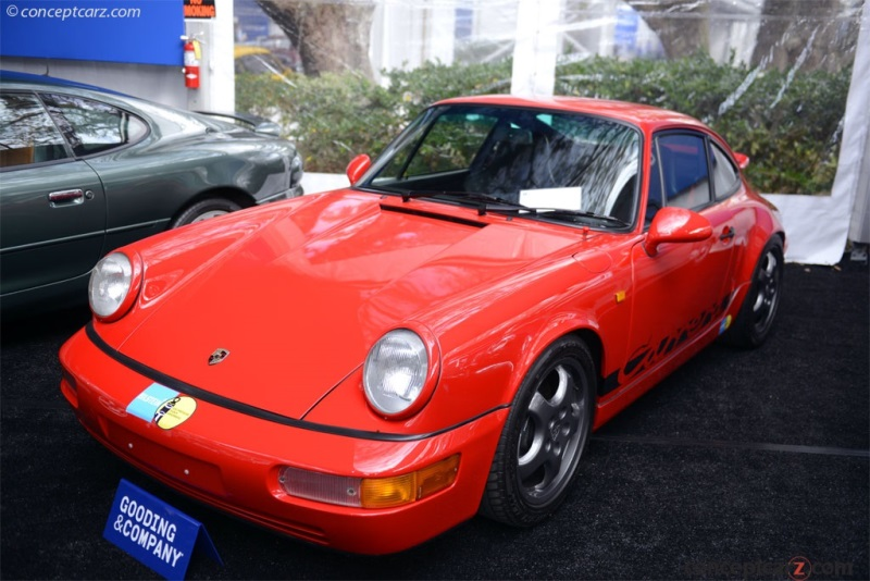 1992 Porsche Type 964 Vehicle Information