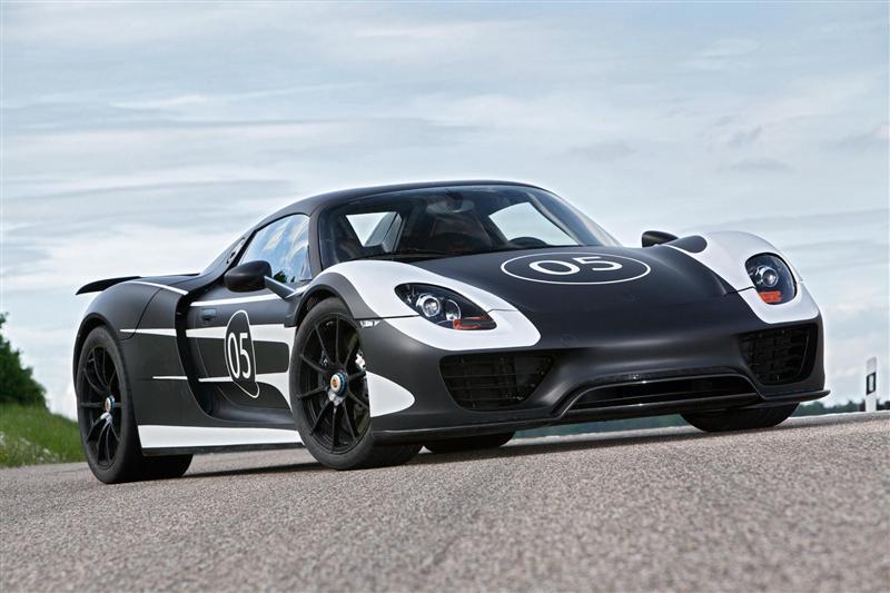 2012 Porsche 918 Spyder Prototype
