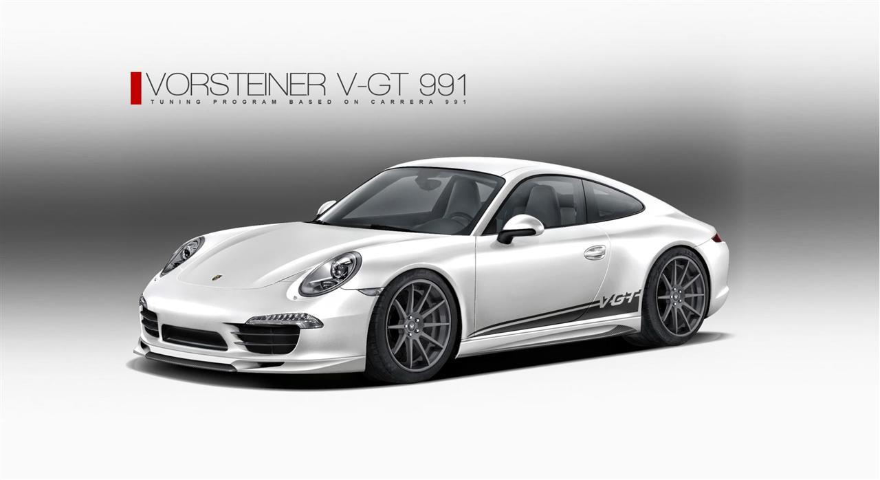 2012 Vorsteiner 911 Carrera