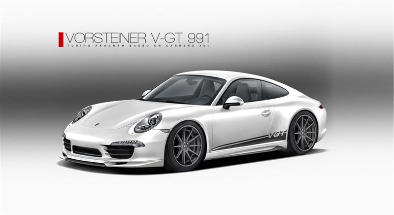 2012 Vorsteiner 911 Carrera pictures and wallpaper