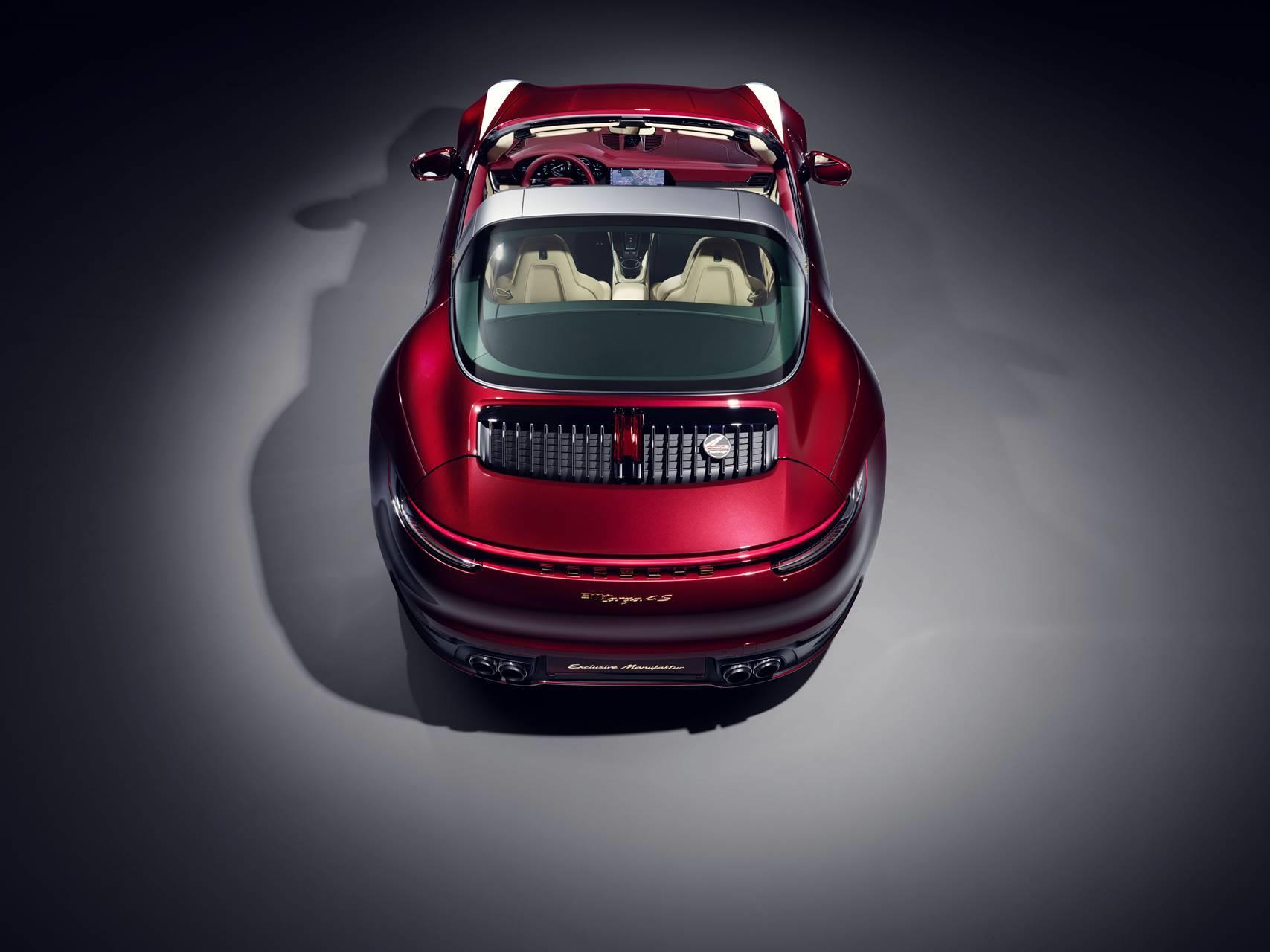 2021 Porsche 911 Targa 4S Heritage Design Edition