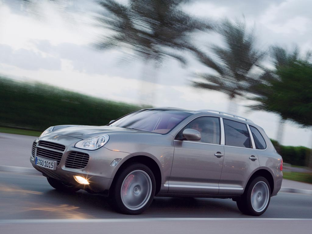 2006 Porsche Cayenne Turbo S History Pictures Value