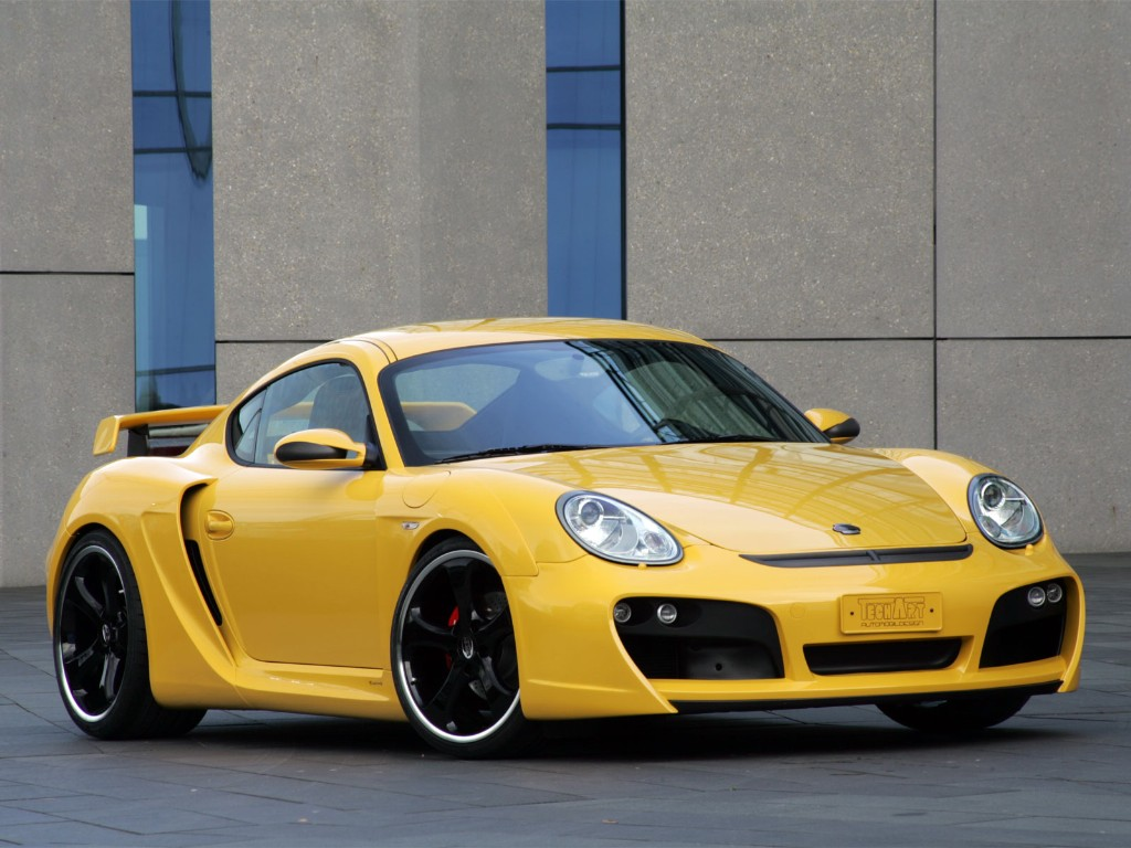 2007 Techart Cayman S Widebody Pictures History Value