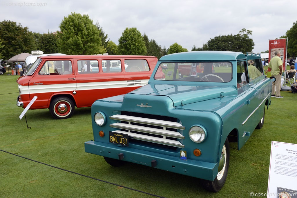 1956 Powell Sport Wagon At The Concours D Elegance Of