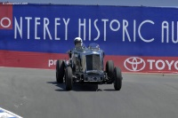 1935 Railton Eight.  Chassis number 542015