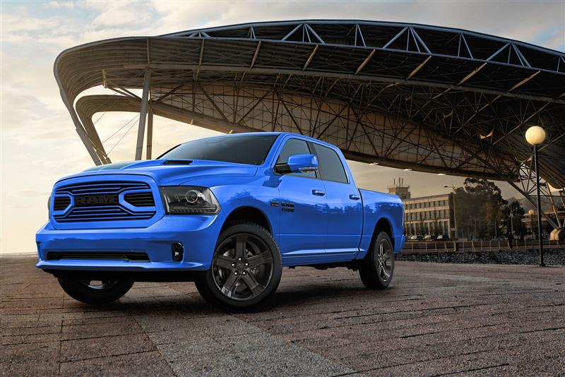 Ram 1500 Hydro Blue Sport pictures and wallpaper