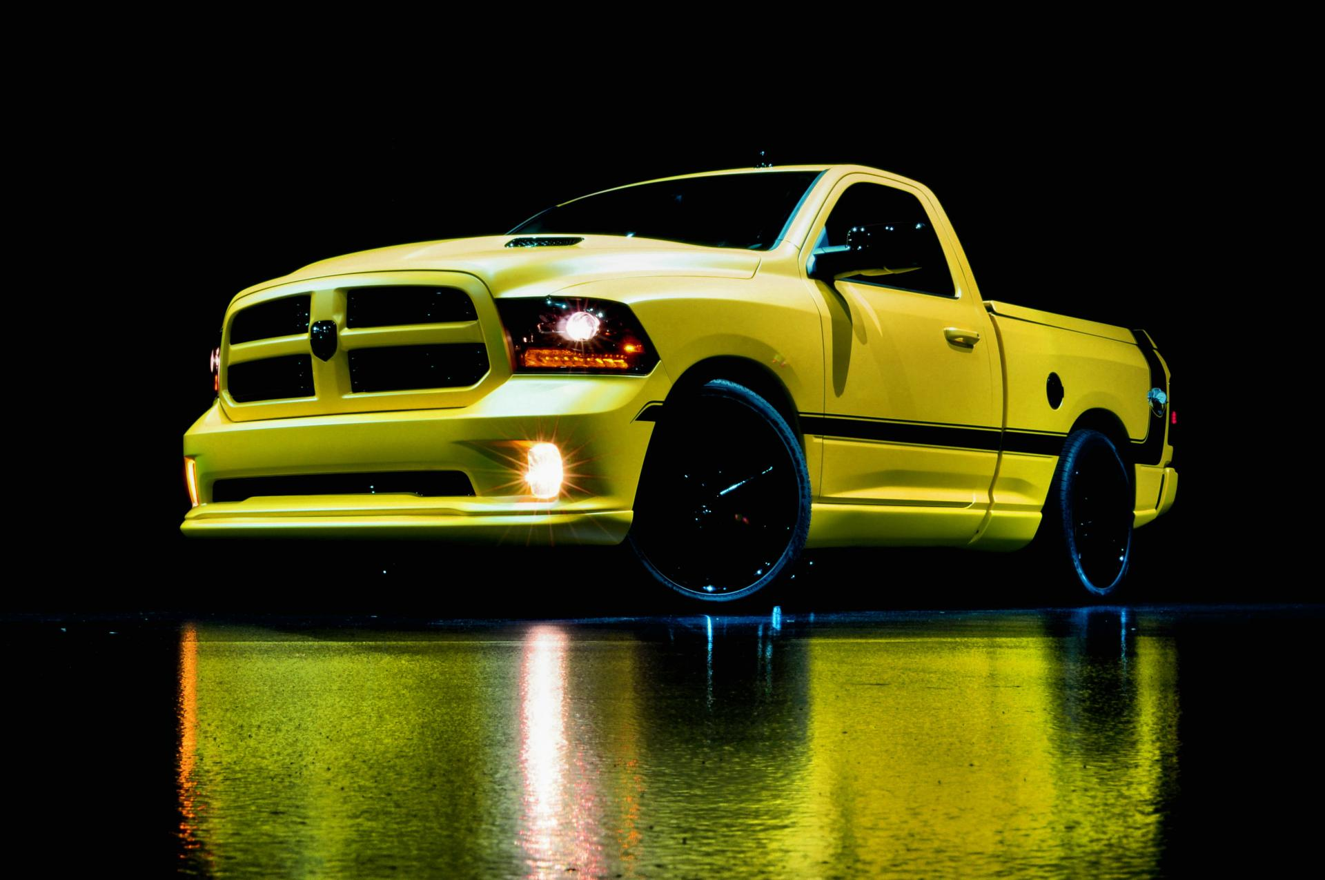 Ram Bumble Bee Concept on 2004 Dodge Dakota 4 Door