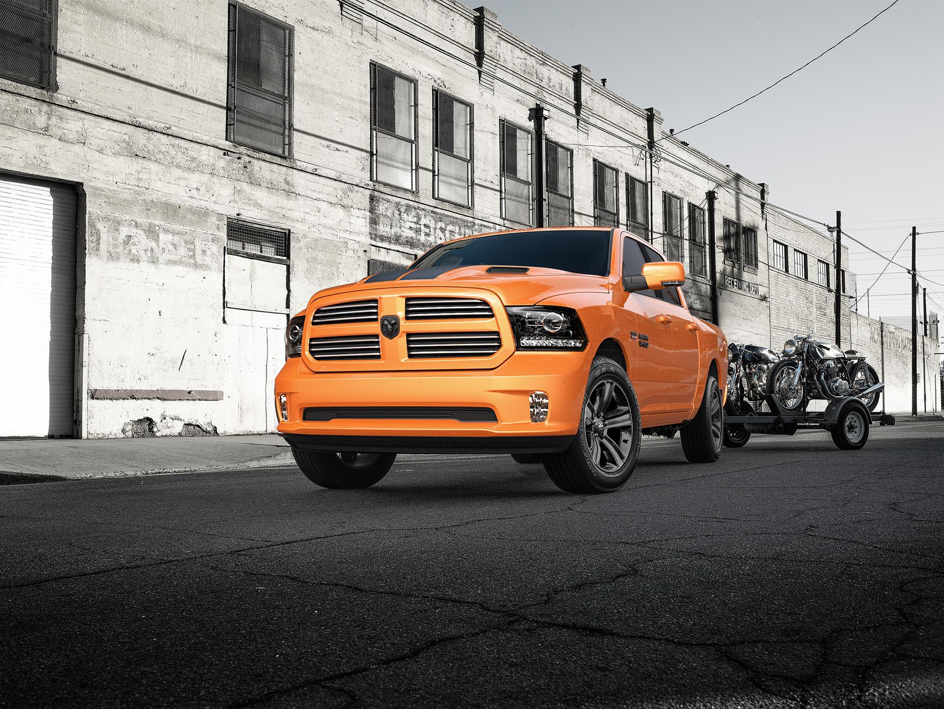 2017 Ram Ram 1500 Ignition Orange Sport