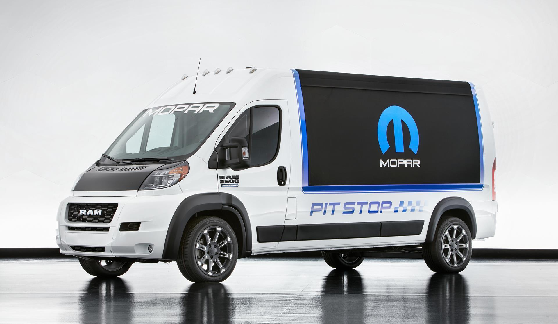 2016 Ram Promaster Pit Stop News And Information