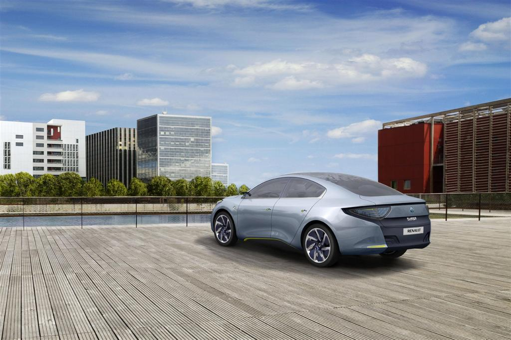 2010 Renault Fluence Ze Concept Image Photo 9 Of 10