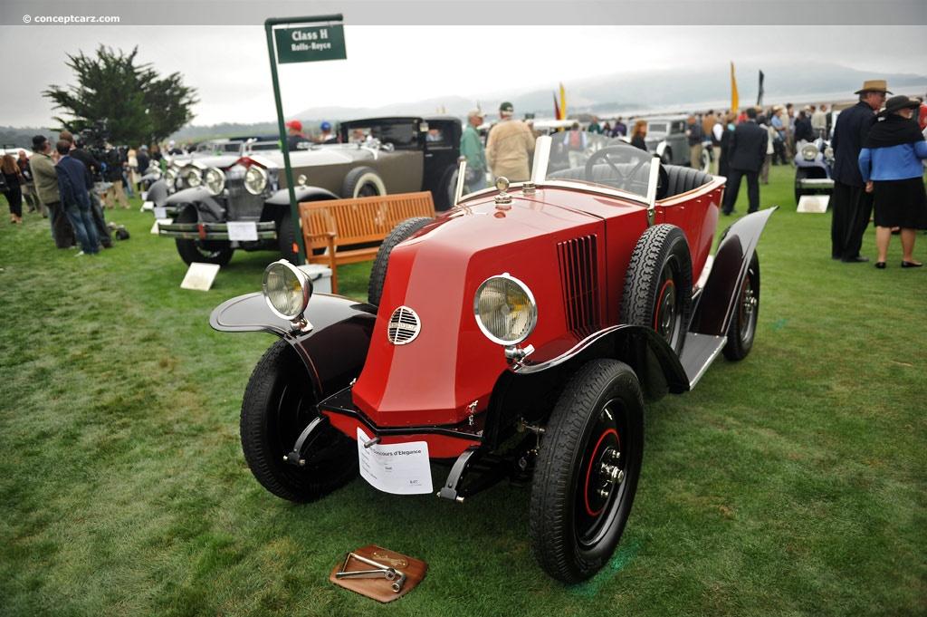 1924 Renault 6cv Image