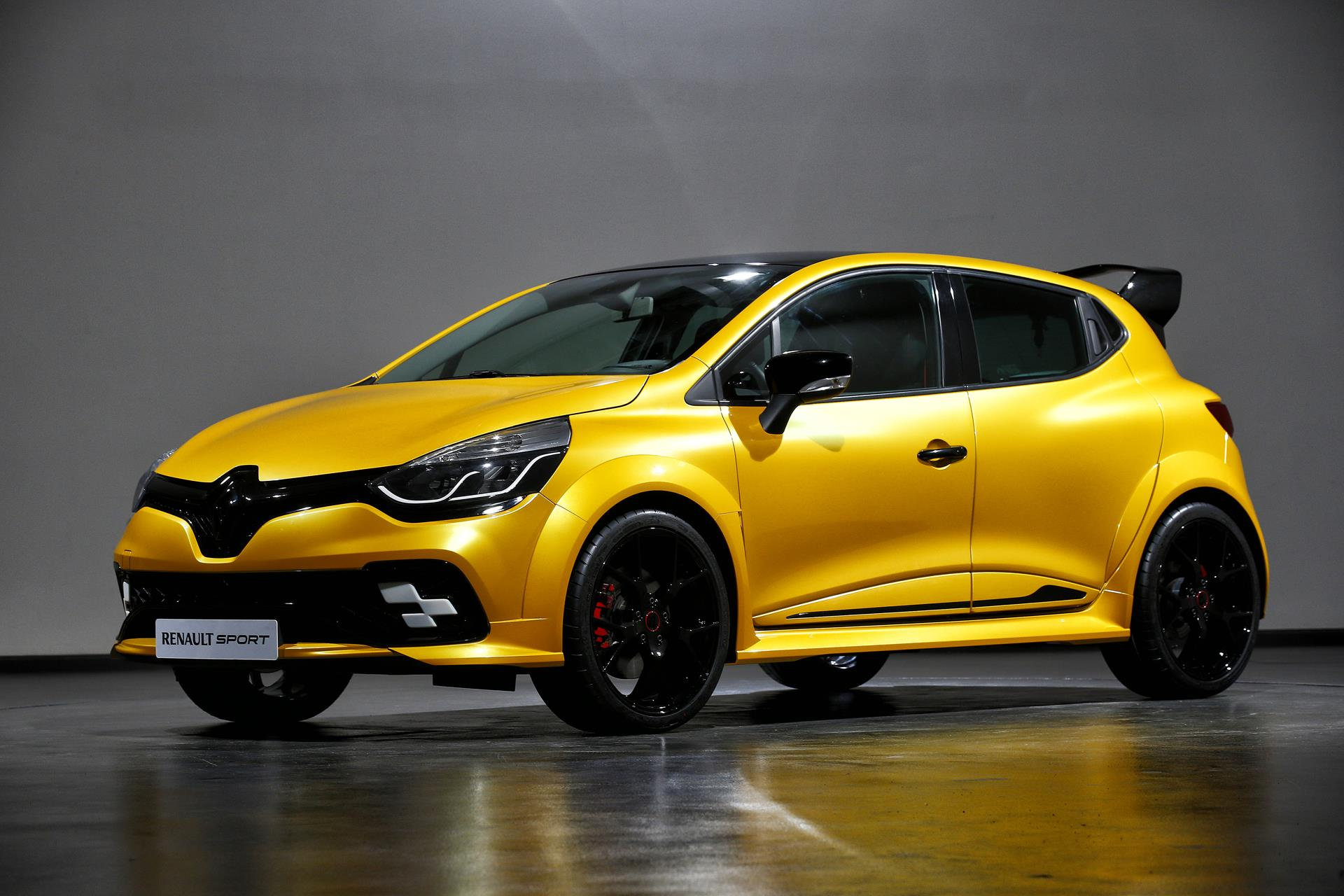2016 renault clio r concept news and information. Black Bedroom Furniture Sets. Home Design Ideas