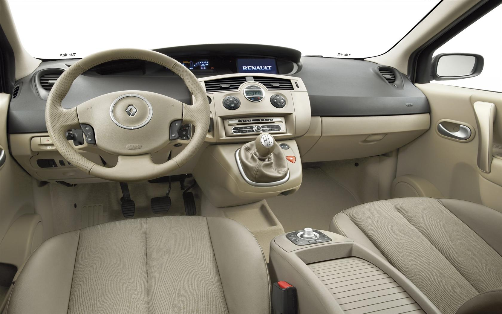 2009 Renault Sc 233 Nic Image Https Www Conceptcarz Com Images Renault Renault Scenic Interior