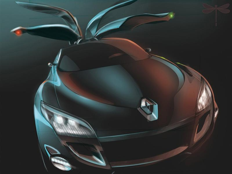2008 Renault Mgane Coup Concept Wallpaper And Image Gallery