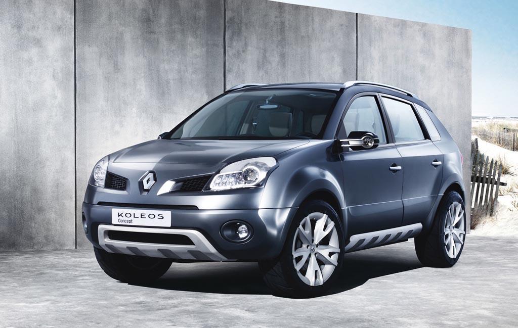 2007 Renault Koleos Concept History Pictures Value