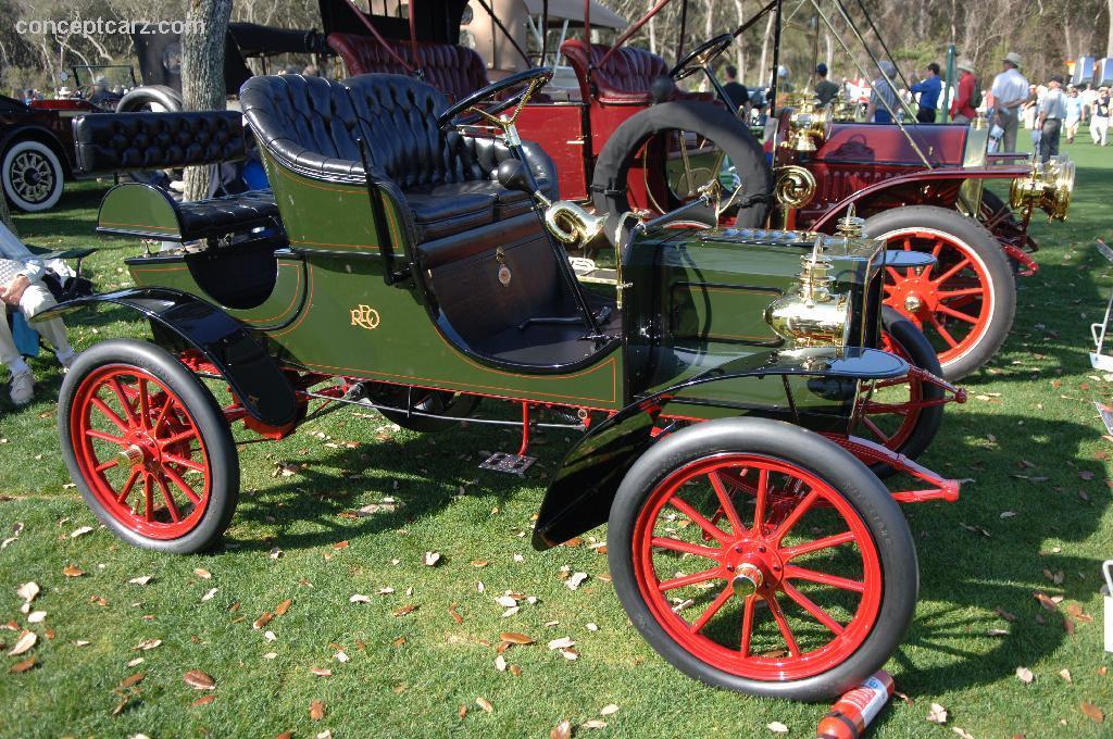 Reo Car: 1905 REO Model B