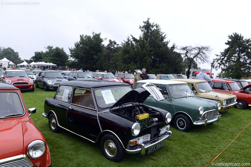 AUSTIN Mini Riley Elf Cooper REAR BRAKE SHOES 1964-