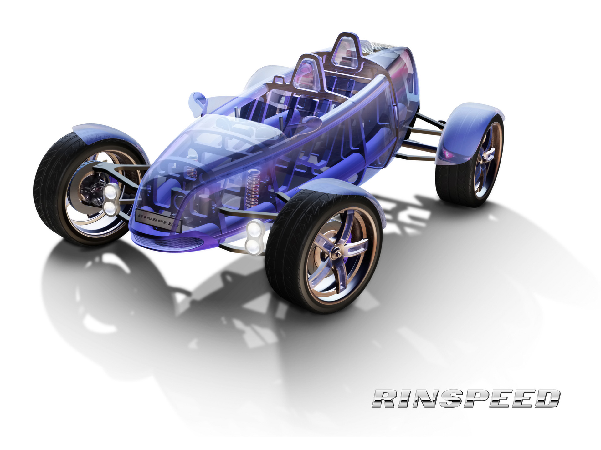 2007 Rinspeed eXasis Concept