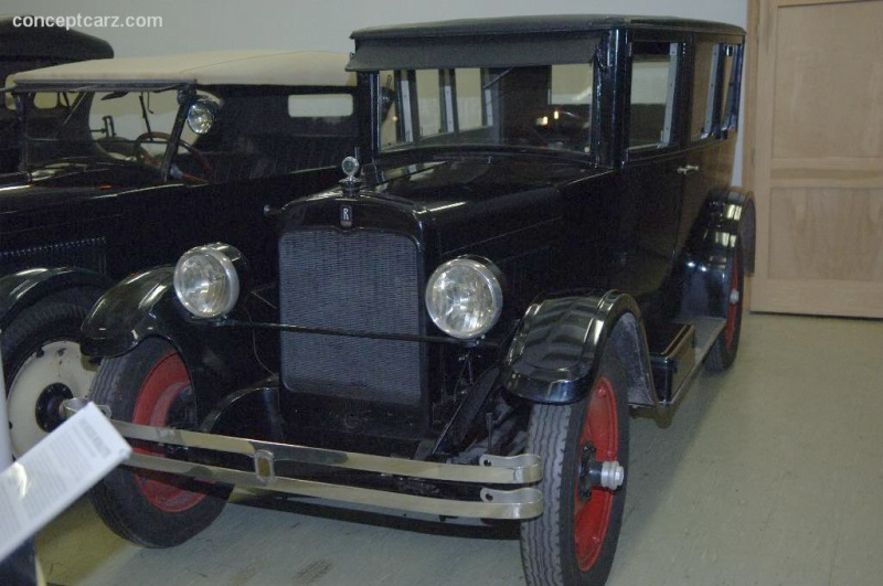 1924 Rollin Model G Sedan