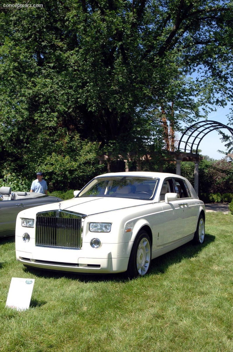 2004 rolls-royce phantom chassis information.