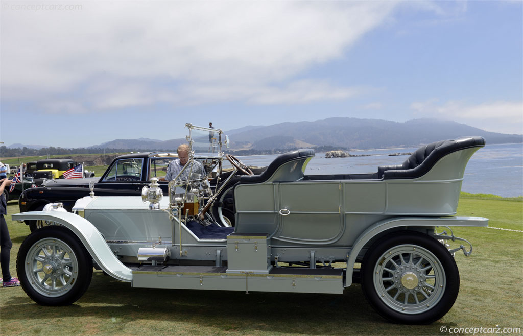 1908 Rolls Royce Silver Ghost Image Chassis Number 60922
