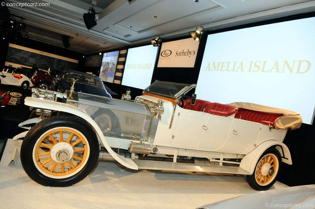 1911 Rolls Royce 40 50 Hp Silver Ghost Image Chassis