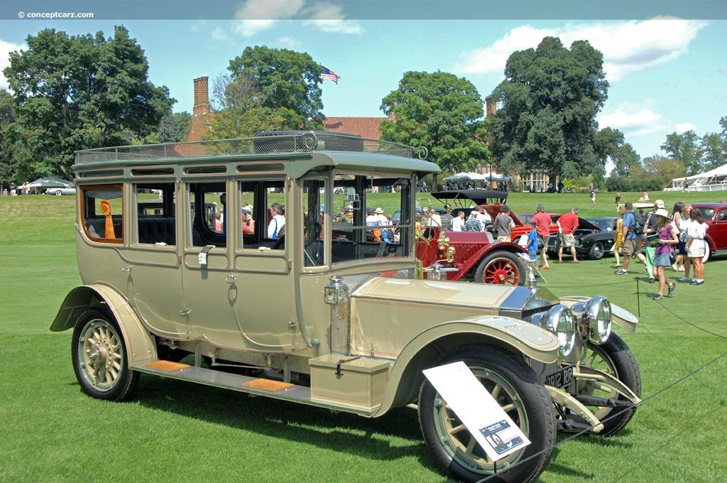 1912 Rolls-Royce Silver Ghost Barker