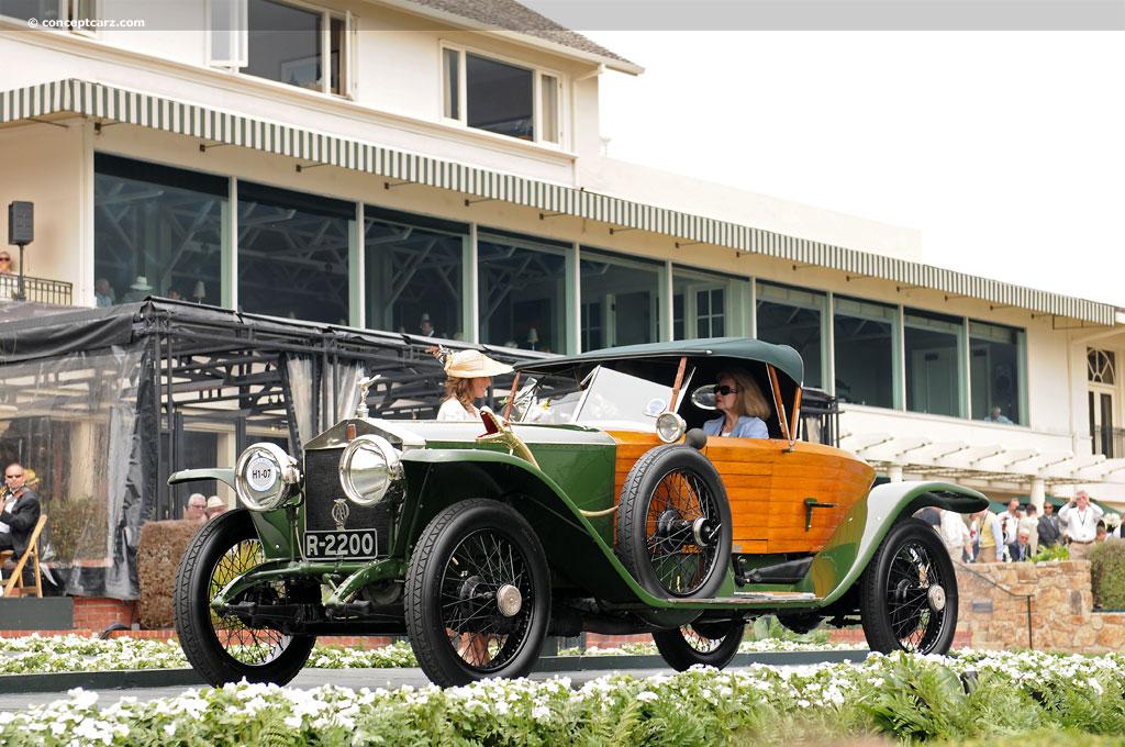 1914 Rolls-Royce Silver Ghost Shapiro-Schebera Skiff