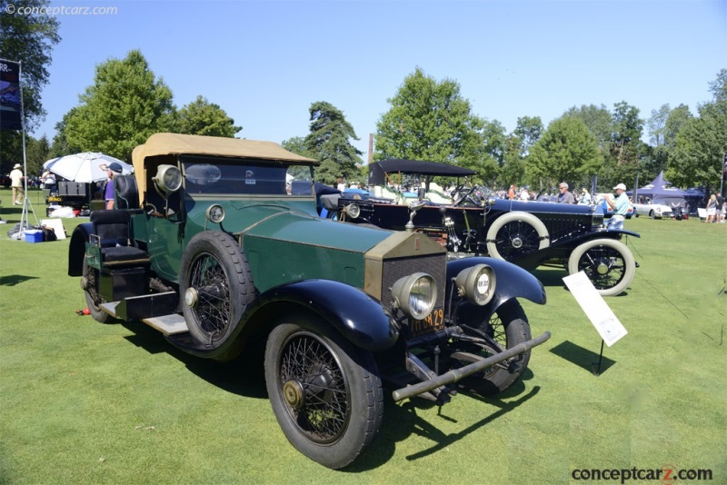 1920 Rolls-Royce Silver Ghost Image. Chassis number 36PE ...