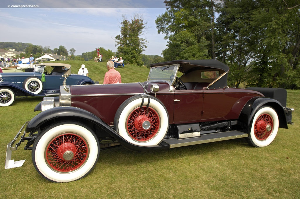 1925 Rolls-Royce Silver Ghost at the Glenmoor Gathering of ...