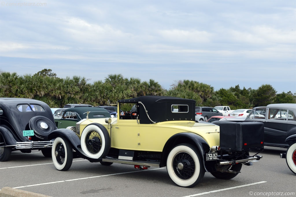 1926 Rolls Royce Silver Ghost Image Chassis Number S3345rl