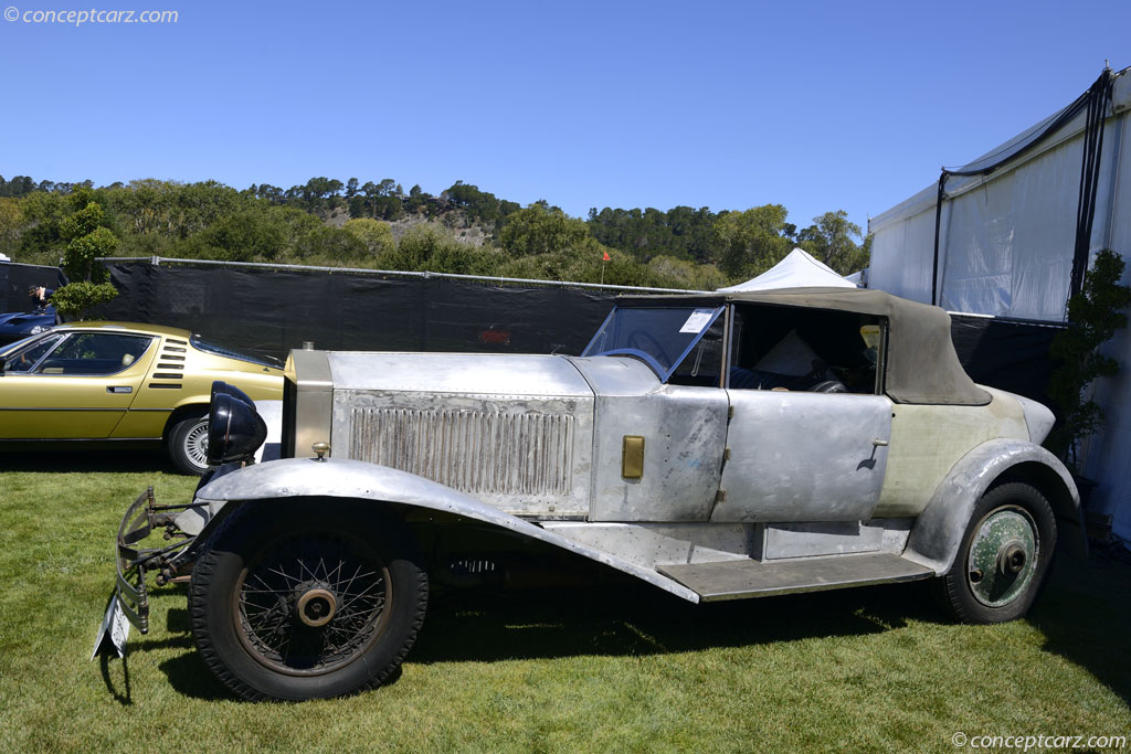 1928 Rolls Royce Phantom I Image Chassis Number 114wr