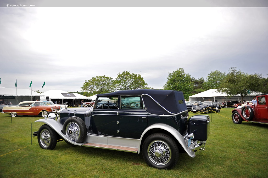 1930 Rolls Royce Phantom I Image Chassis Number S126pr