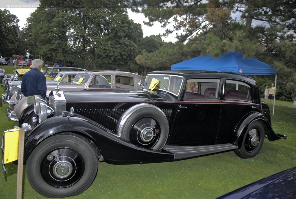 1934 rolls royce phantom ii image chassis number 160py. Black Bedroom Furniture Sets. Home Design Ideas