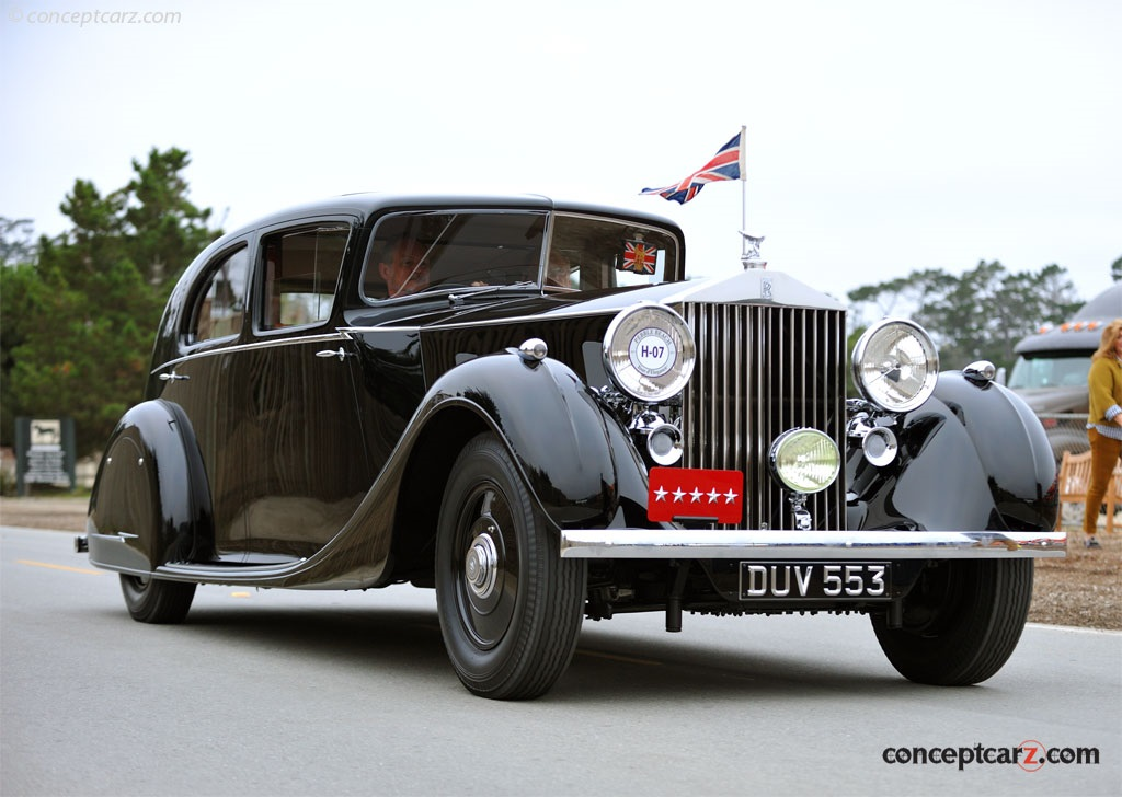 1936 rolls royce phantom iii image chassis number 3ax79. Black Bedroom Furniture Sets. Home Design Ideas