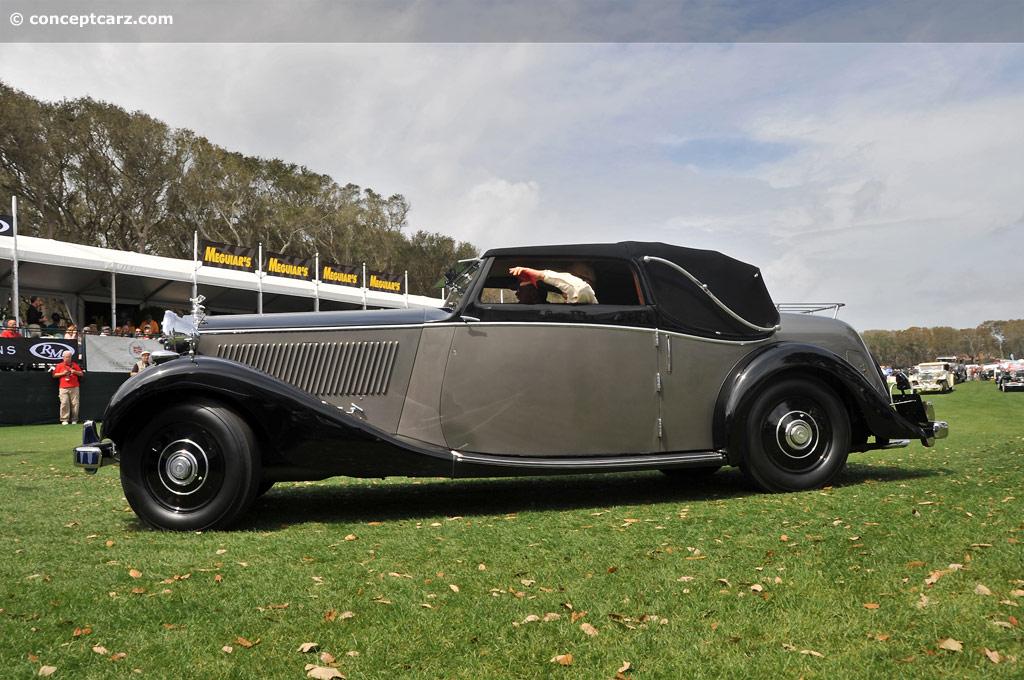 1936 Rolls Royce Phantom Iii Image Chassis Number 3az174