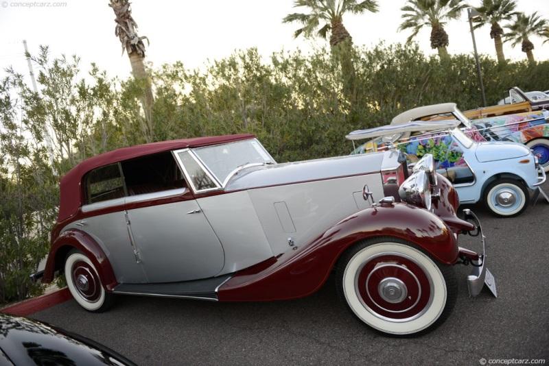 1937 Rolls-Royce 25/30HP