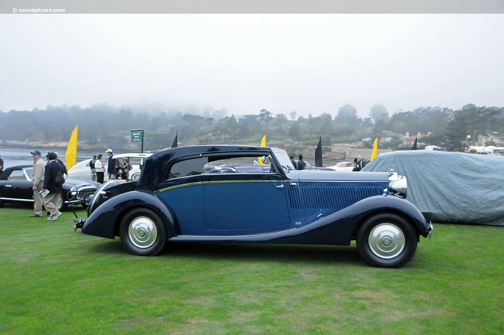 Auction Results And Sales Data For 1937 Rollsroyce Phantom Iii