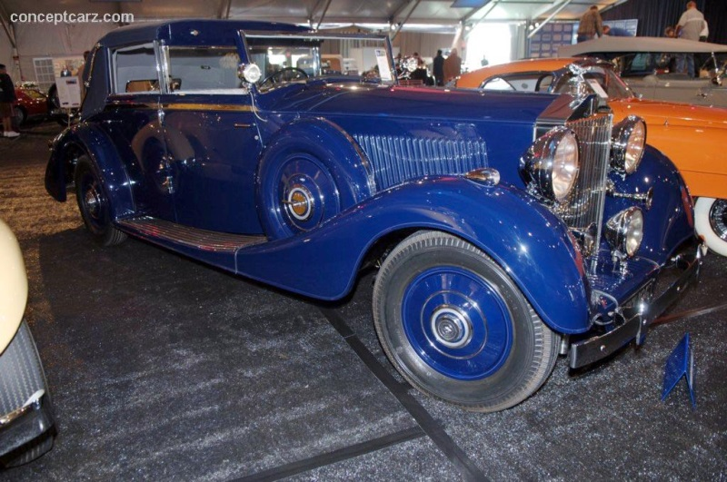 1937 rolls royce phantom iii at the gooding company pebble beach auction. Black Bedroom Furniture Sets. Home Design Ideas