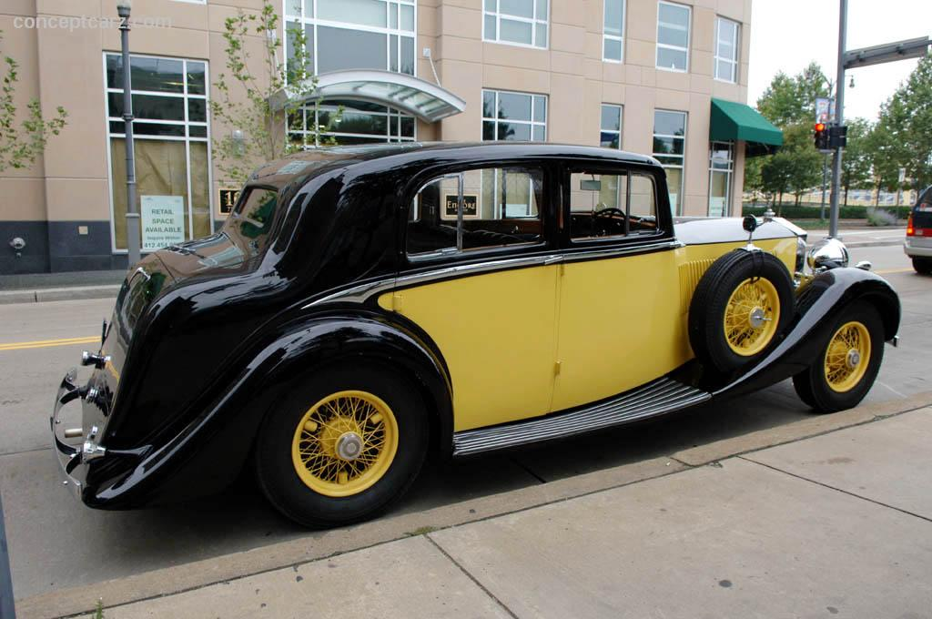 Auction Results And Sales Data For 1936 Rolls Royce