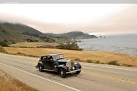 1939 Rolls-Royce Phantom III.  Chassis number 3DL122