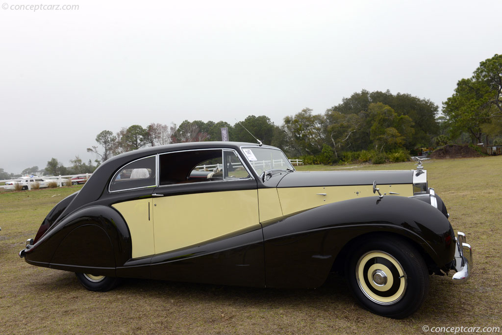 Auction Results and Sales Data for 1952 Rolls-Royce Silver Wraith