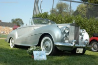 1953 Rolls-Royce Silver Dawn.  Chassis number LSLE31
