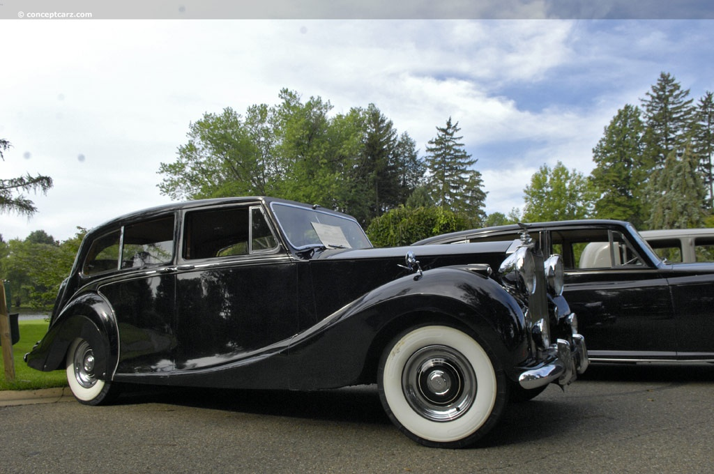 1954 Rolls Royce Silver Wraith At The Glenmoor Gathering