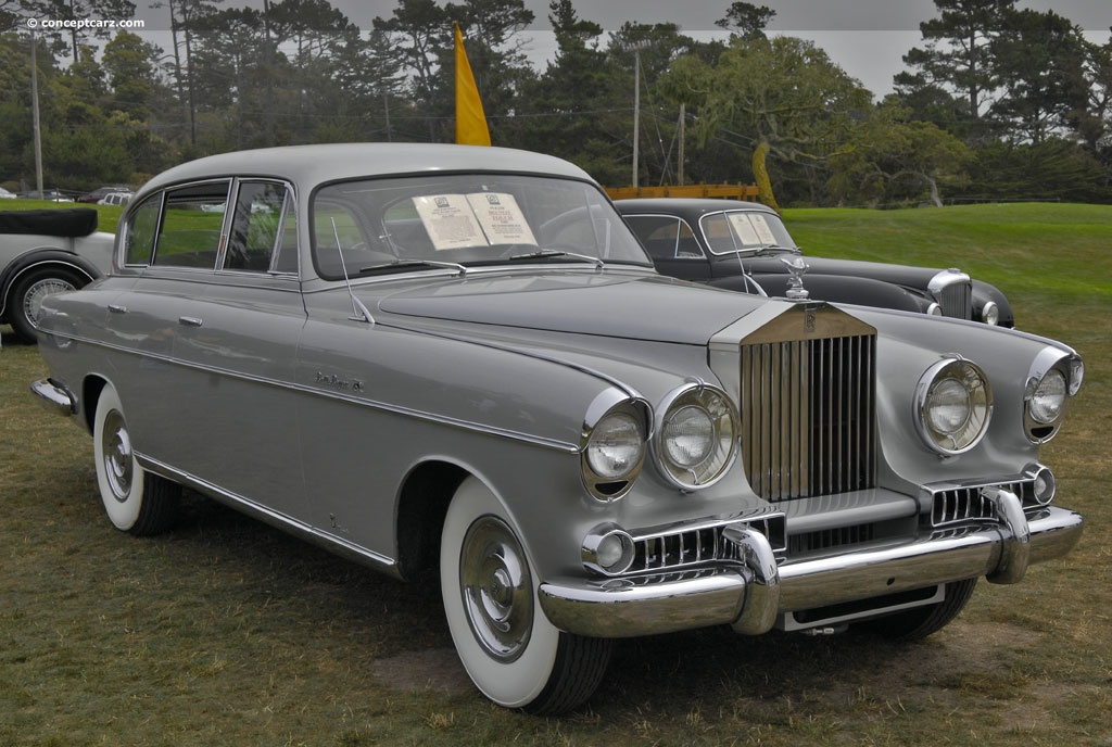 1954 rolls royce silver wraith at the the blackhawk collection at pebble beach. Black Bedroom Furniture Sets. Home Design Ideas