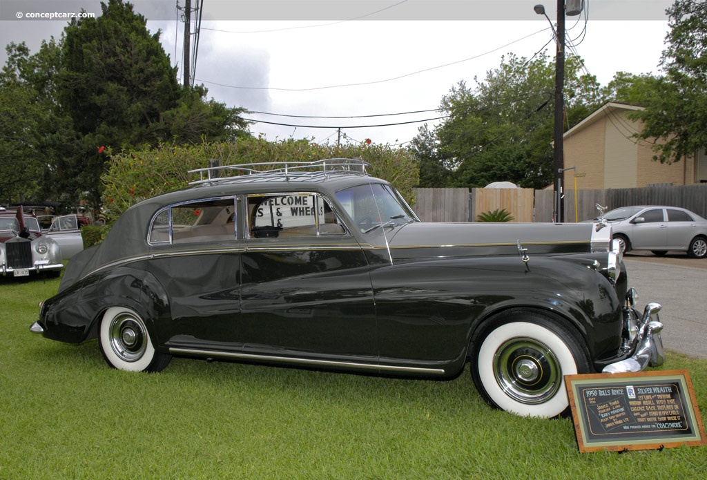 1958 rolls-royce silver wraith history, pictures, value, auction
