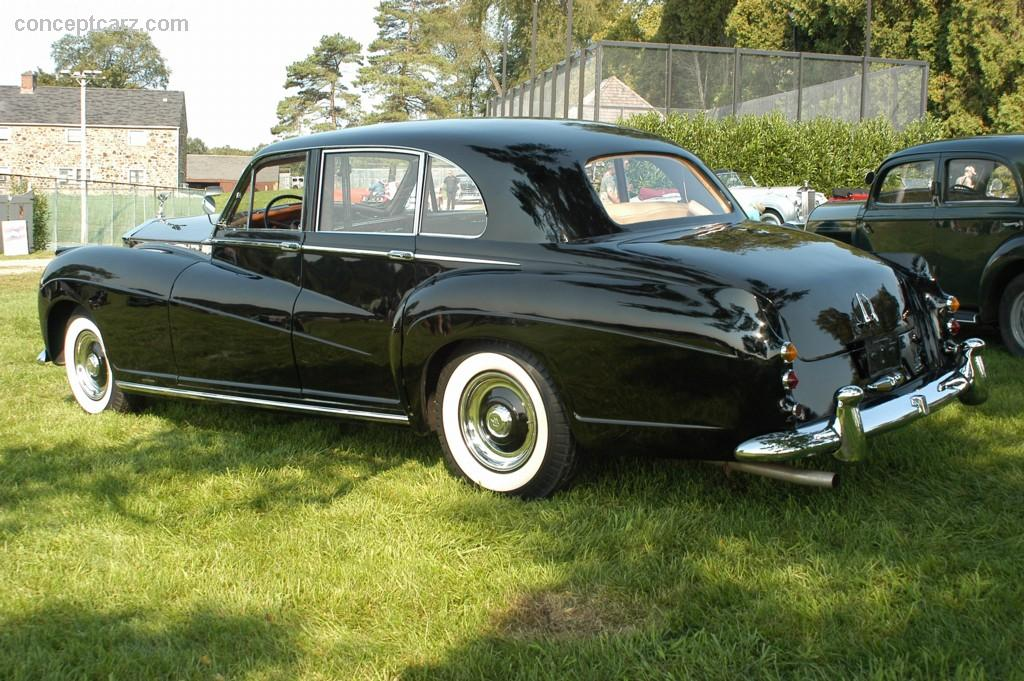 1959 Rolls Royce Silver Wraith At The The 100 Motor Cars
