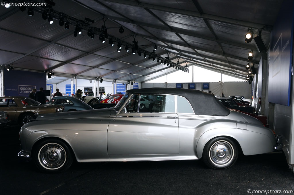 1963 rolls royce silver cloud iii image chassis number lscx 789. Black Bedroom Furniture Sets. Home Design Ideas