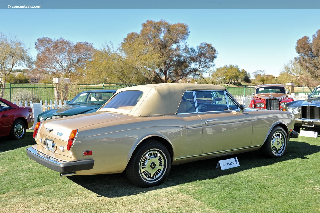 Auction Results and Sales Data for 1981 Rolls-Royce Corniche II