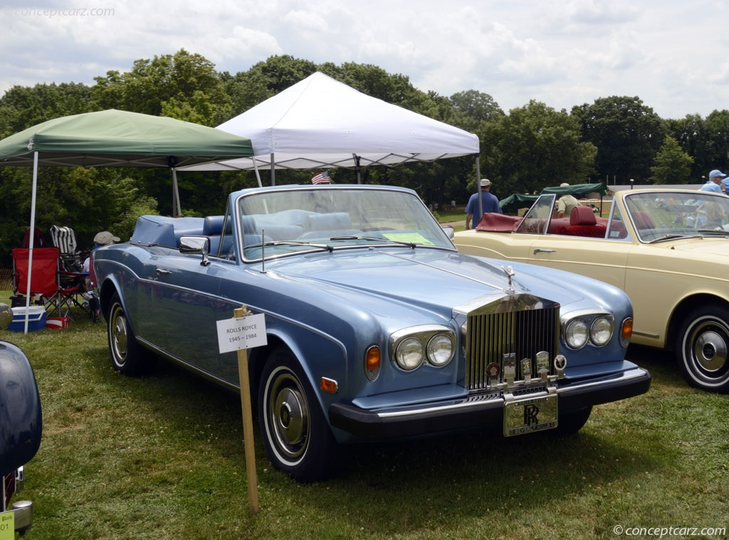 Auction Results and Sales Data for 1982 Rolls-Royce Corniche